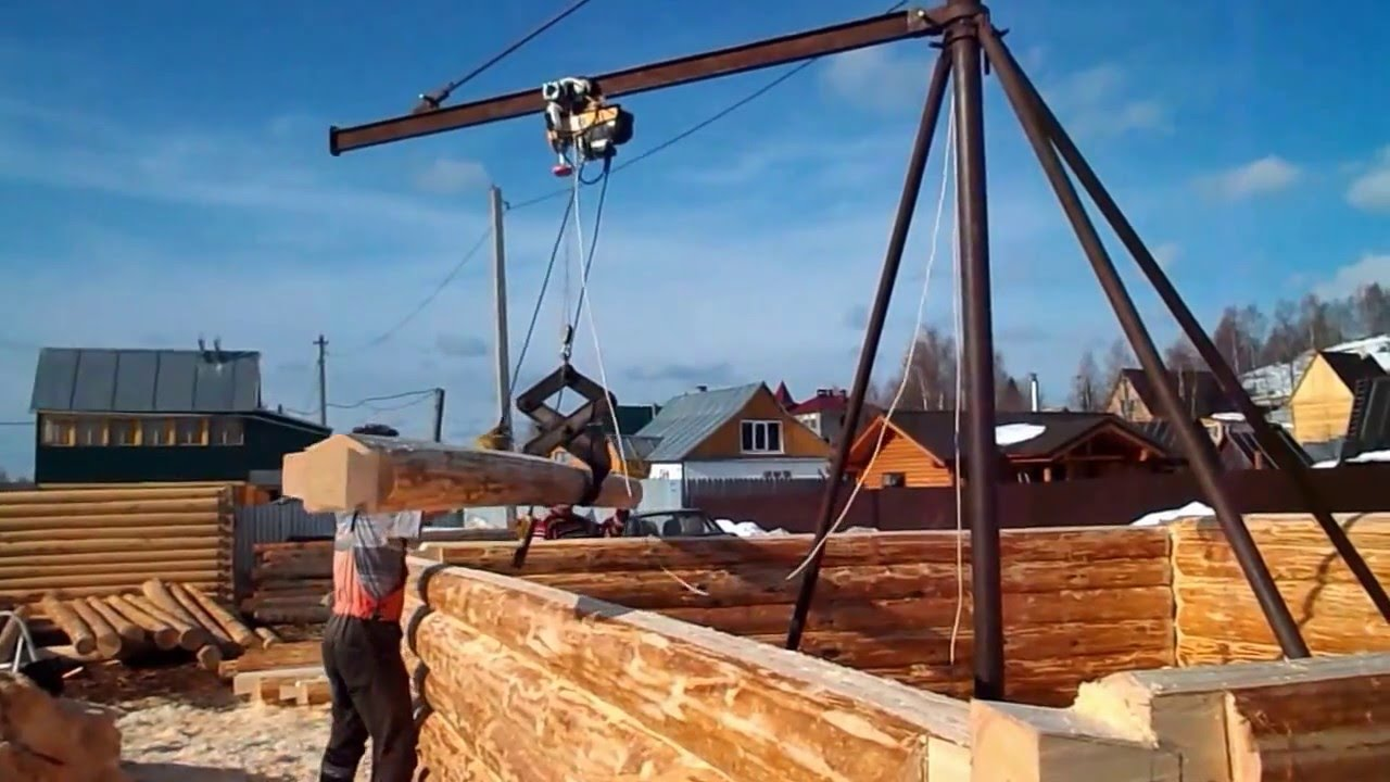 Подъемник своими руками для строительства дома 59
