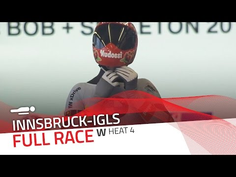 Innsbruck-Igls | BMW IBSF World Championships 2016 - Women's Skeleton Heat 4 | IBSF Official
