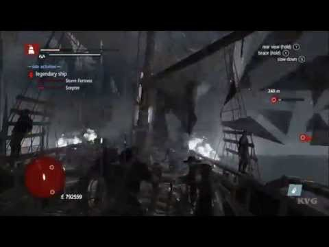 Assassin's Creed: Rogue - Legendary Ship Battle - The Storm Fortress [HD]