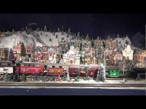 Christmas Train Village - 2011 (Livingston, TX)