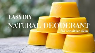 *EASY DIY* Natural Deodorant for sensitive skin!