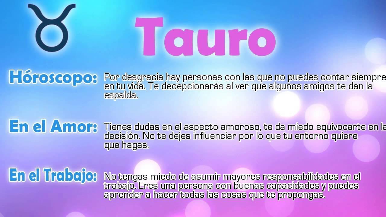 Top 28+ - Horoscopo Dia Tauro Newhairstylesformen2014