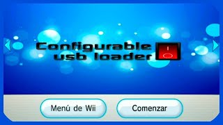 Wii | Instalar CFG USB Loader como canal de Wii [WAD]