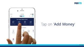 Add Money & Pay or Send Money through Paytm