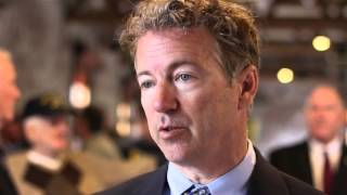 Rand Paul Talks State of AK Steel