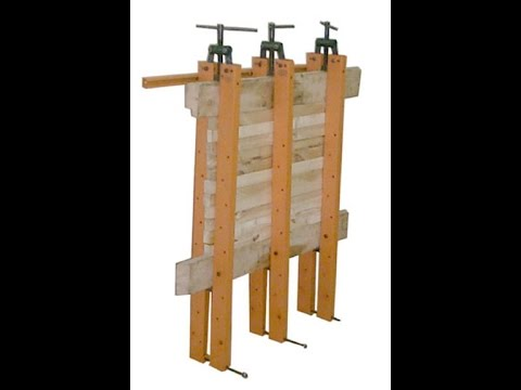 Как сделать пресс для деревянного щита