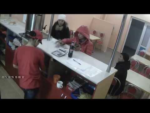 Мошенница в Астане - Цыганский обман с пятерочкой