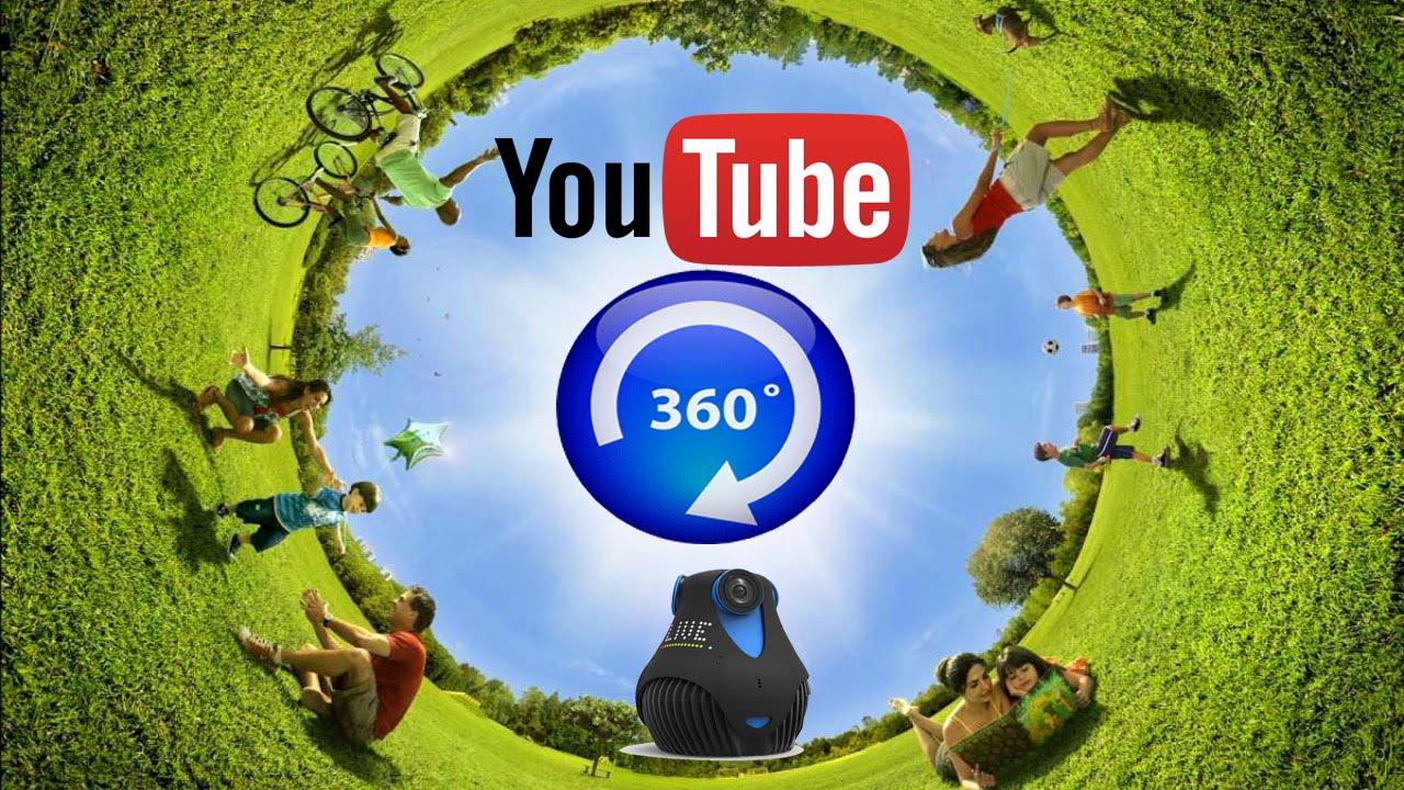 Как сделать обзор на 360