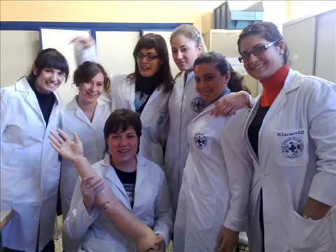 Graduación Enfermería Virgen de las Nieves 2010
