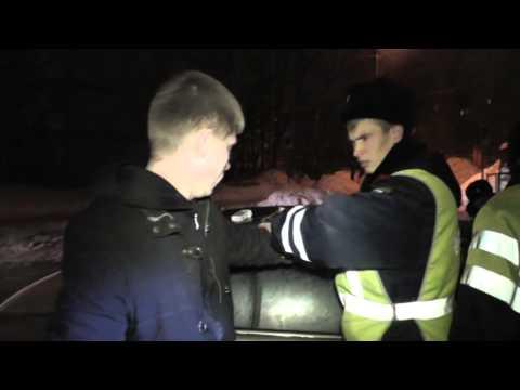 Наркоманы на Хендае на улице Чапаева. Место происшествия 04.03.2015