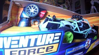 Adventure Force Glow in the Dark RC Buggy TOY CARS ACTION!