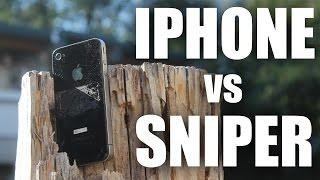 I Phone Vs Sniper Rifle | Canadian Sniper