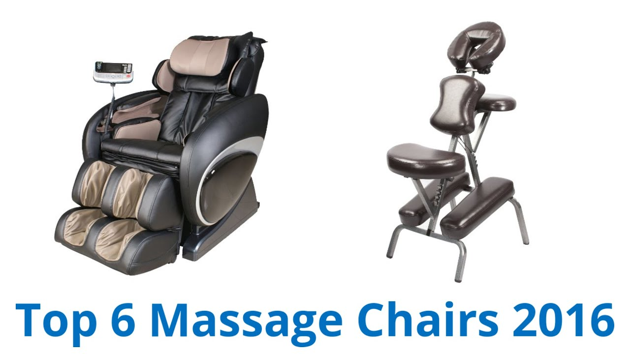 6 Best Massage Chairs 2016