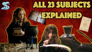 All 23 Subjects Taught At Hogwarts Explained Feat MOVIEFLAME