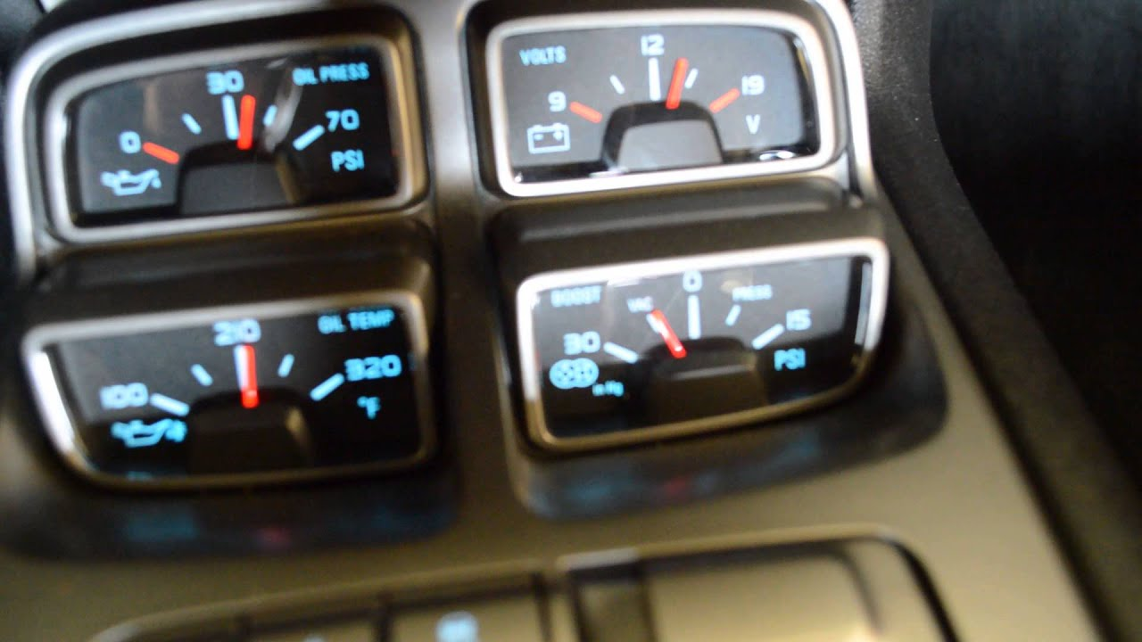 Tampa Tuning Camaro Zl1 Manual Boost Gauge Youtube