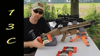 DPMS G2 vs SCAR17 accuracy w/ Federal Gold Medal Match Sierra ammo