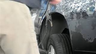 Spot panel dent,car Fender repairs