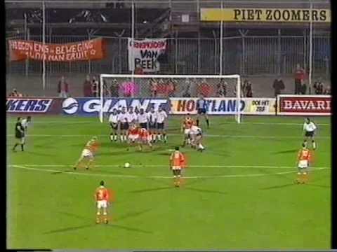 Nederland - Engeland 2-0, WK kwalificatie 1994