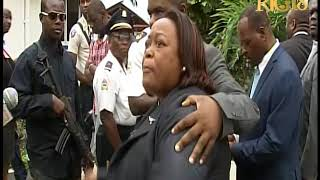 VIDEO: Haii - Senatrice Dieudone Luma fashe li joure group 4 Senatè oposition yo