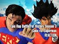 Reaction: Epic Rap Battles of History - Goku vs. Superman
