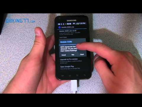 Video: Install a Custom Recovery on Samsung Epic 4G Touch GB27
