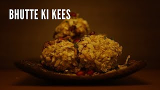Bhutte Ki Kees || The Easy Food Recipes || Indian Street Food