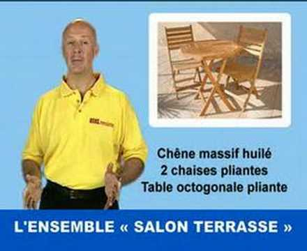 Meuble de jardin salon terrasse youtube - Meubles de terrasse ...
