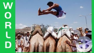 Amazing Traditional Sport in Yemen