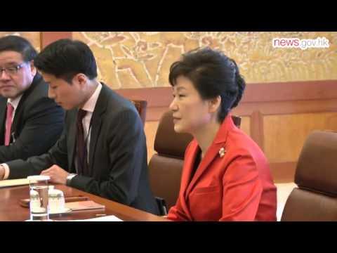 CE starts Korea visit (26.11.2014)