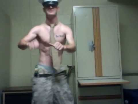 MY SEXY MARINE GOING OUT WITH HIS BOOTS ON