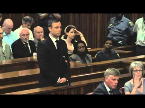 Watch Judge Masipa sentence Oscar Pistorius to five years in prison