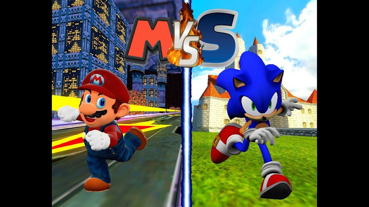 Sonic es muy noob super smash flash 2 sonic vs mario youtube