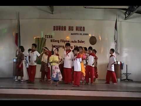 Grade 1 performance & Pre School Awarding Linggo ng Wika 2009
