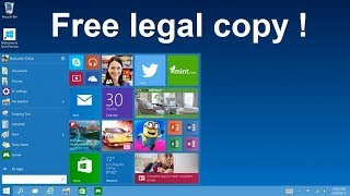 Download Windows 10 legally and create bootable DVD or USB