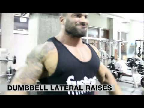 VIP Training Video: Dumbbell & Cable Lateral Raises with Santana and Salim
