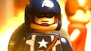 Lego Videos - Lego Captain America - 1080p HD