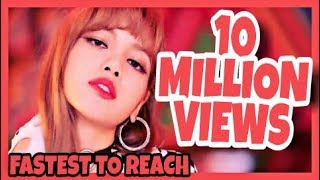 Fastest KPOP Groups Music Videos To Reach 10 Million Views!!