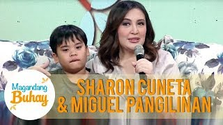 Sharon talks about her son Miguel | Magandang Buhay
