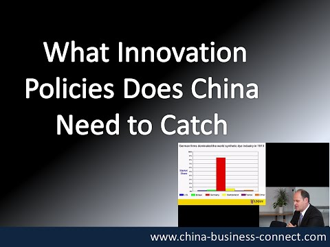 China Innovation Policies: What Innovation Policies Does China Need to Catch