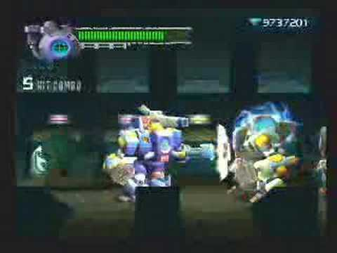Megaman X8 Bamboo Pandamonium Stage