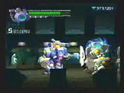 Megaman X8 Bamboo Pandamonium Stage