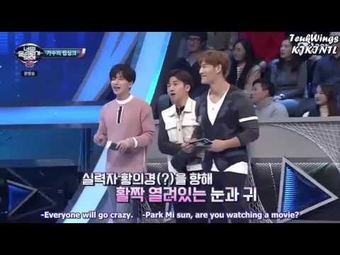 (Eng subs)I Can See Your Voice 4 ep3 - Kim Min Gue cut 2