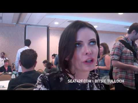 Bitsie Tulloch GRIMM Comic Con Interview