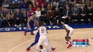 Portland Trail Blazers vs. Philadelphia 76ers - November 22, 2017