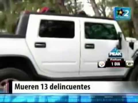 Graban Balacera en Vivo Militares Vs Zetas En Tamaulipas