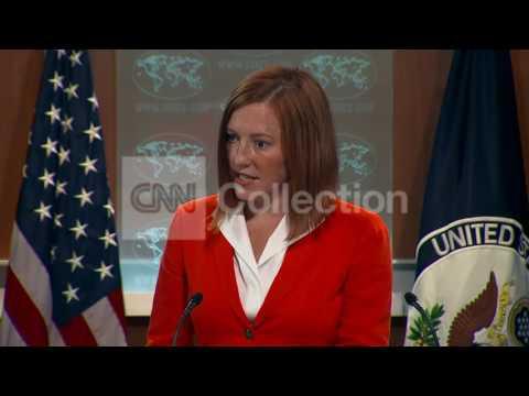 STATE DEPT BRFG:JEN PSAKI AID TO SYRIA