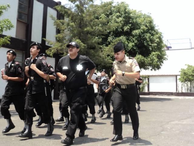 Guardias de México Curso de Monitores
