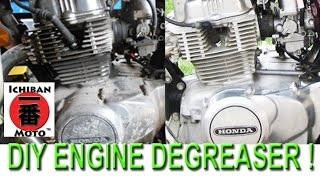 How to make diy engine degreaser cleaner for your motorcycle and car