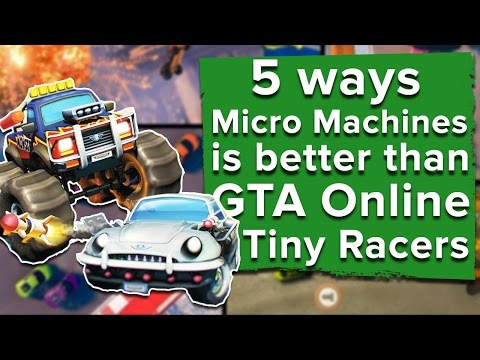 5 ways Micro Machines World Series is better than GTA Online Tiny Racers