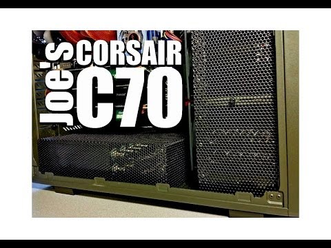 Joe mods his Corsair C70 Case, www.Mnpctech.com